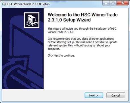 Hướng dẫn tải về và cài đặt HSC WinnerTrade 1